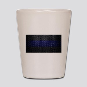 Police Diamond Plate Shot Glass