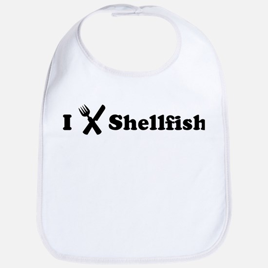 I Eat Shellfish Bib
