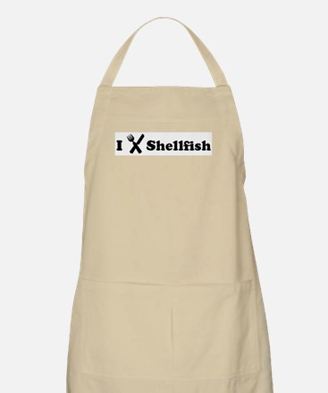 I Eat Shellfish BBQ Apron