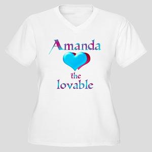 Amandalove Plus Size T-Shirt