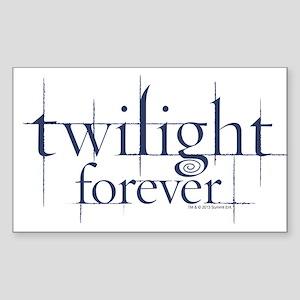 Twilight Forever Logo 1 Sticker (Rectangle)