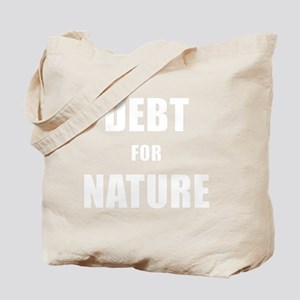 DEBT FOR NATURE Tote Bag