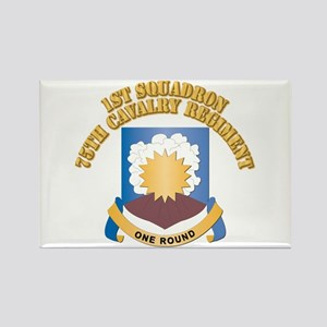 DUI - 1st Squadron - 75th Cavalry Regiment With Te