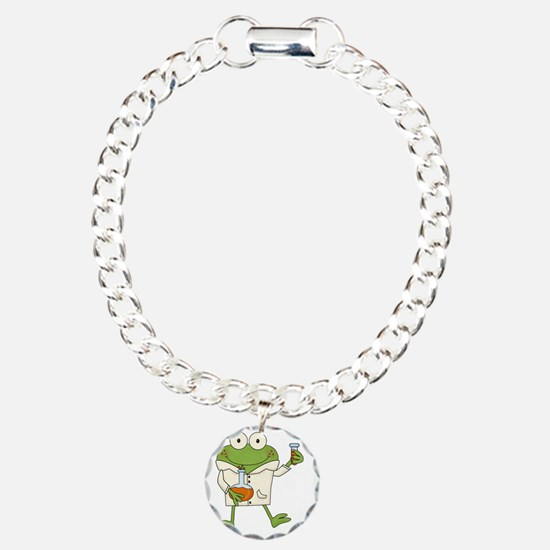 Frog Scientist Bracelet