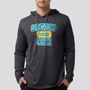 Sigma Chi Athletic Mens Hooded Shirt