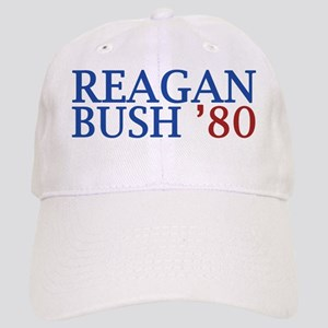 Reagan Bush '80 Cap