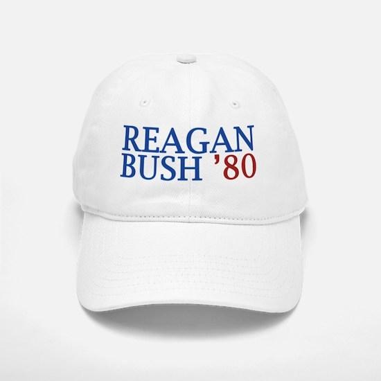 Reagan Bush '80 Baseball Baseball Cap