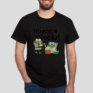 Frogs Science Rocks Dark T-Shirt