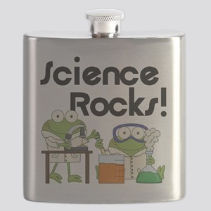 Frogs Science Rocks Flask