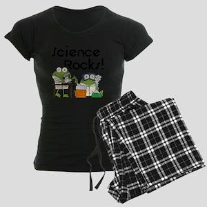 Frogs Science Rocks Women's Dark Pajamas