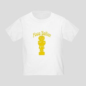 Foos Baller Toddler T-Shirt
