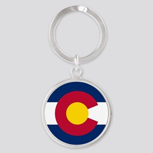 Flag of Colorado Keychains
