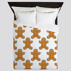 'Gingerbread Men' Queen Duvet