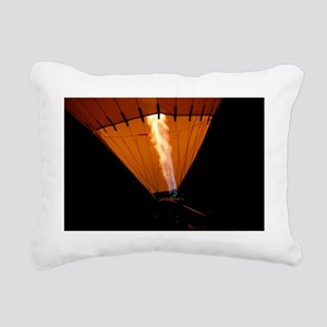 Hot Air Balloon Rectangular Canvas Pillow