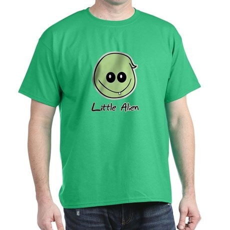 Little Alien Dark T-Shirt