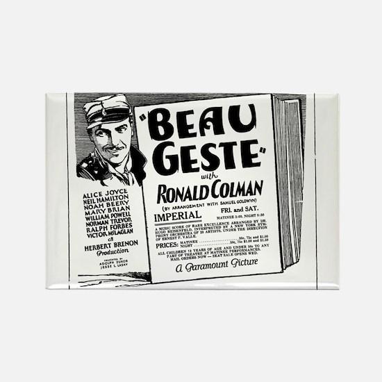 Ronald Colman Beau Geste Rectangle Magnet
