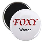 "Foxy Woman 2.25"" Magnet (10 pack)"