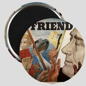 FDR OUR FRIEND Magnet