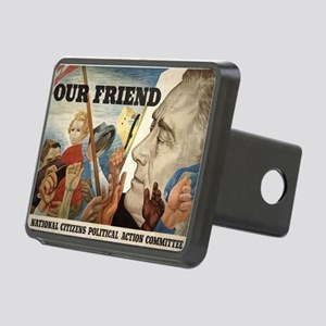 FDR OUR FRIEND Rectangular Hitch Cover