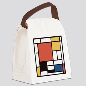 Mondrian Number Two Canvas Lunch Bag