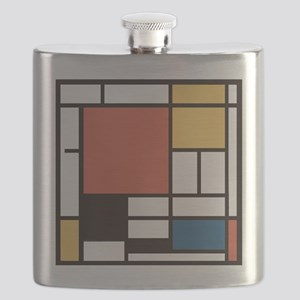 Mondrian Number Two Flask
