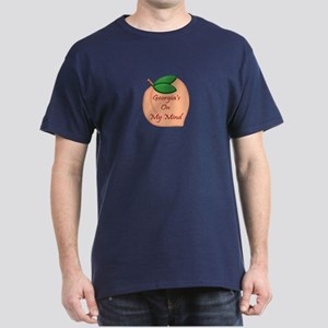 Georgia Minded Peach Dark T-Shirt