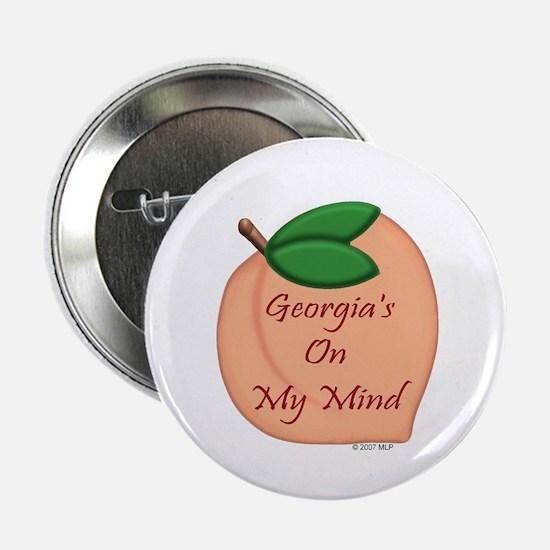 Georgia Minded Peach Button