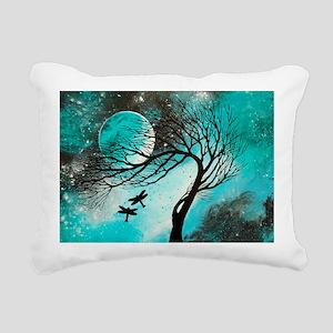 Dragonfly Bliss Rectangular Canvas Pillow