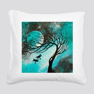 Dragonfly Bliss Square Canvas Pillow