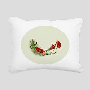 Beautiful Victorian Flow Rectangular Canvas Pillow