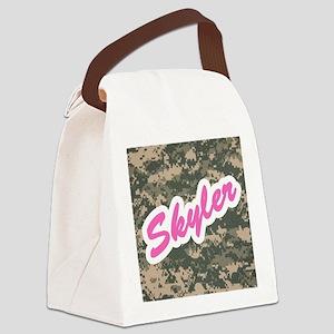 Camo Custom Skyler Canvas Lunch Bag