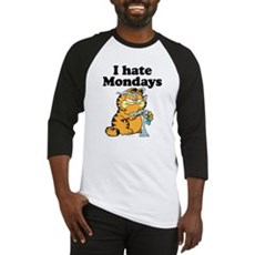 I Hate Mondays Baseball Jersey