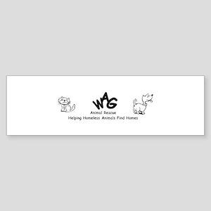 WAG bumper sticker