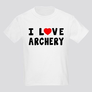 I Love Archery Kids Light T-Shirt