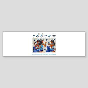Egyptian ladies  final Bumper Sticker