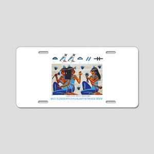Egyptian ladies  final Aluminum License Plate