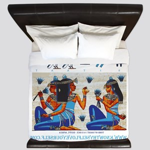 Egyptian ladies  final King Duvet