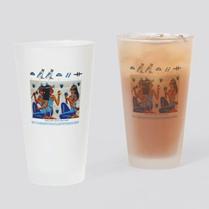 Egyptian ladies  final Drinking Glass