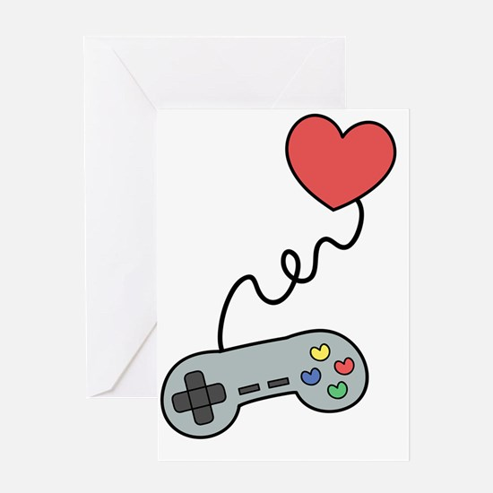 Don't play with my heart via game co Greeting Card