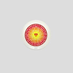 The Color Of Vegan Mini Button