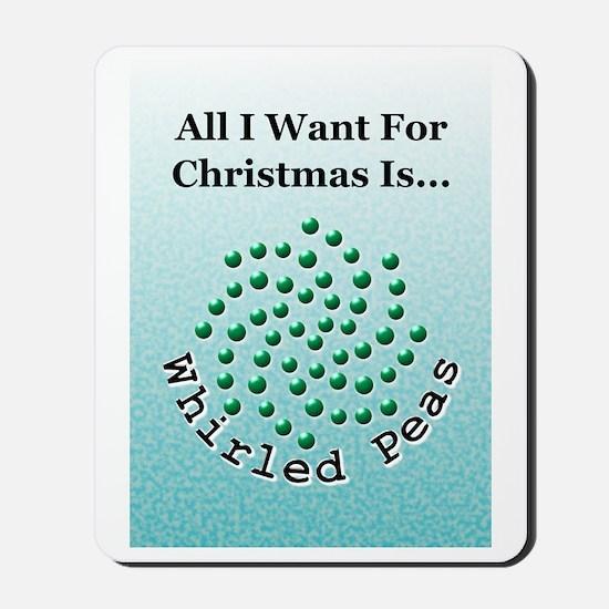 Christmas Peas 2 Mousepad
