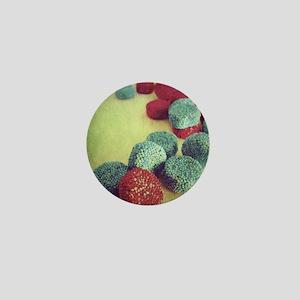 Vintage Style Candy Jellies Photograph Mini Button