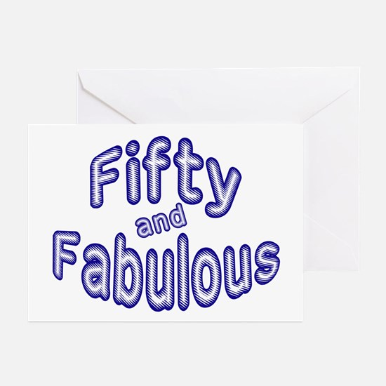 Fabulous 50 Greeting Cards (Pk of 10)