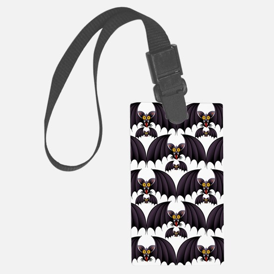Bat Cartoon Luggage Tag