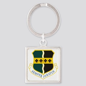 9th Operations Group Square Keychain