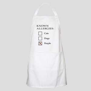 Known Allergies - cats, dogs, people Apron