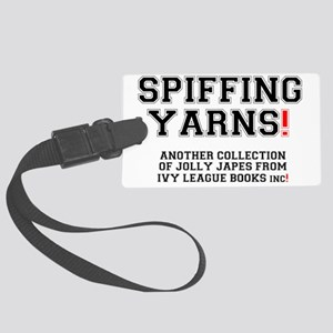 SPIFFING YARNS - IVY LEAGUE BOOK Large Luggage Tag