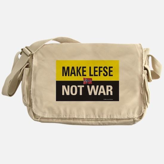 Make Lefse... Not War Messenger Bag