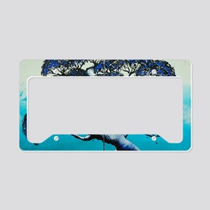Blue Bonsai Serenity License Plate Holder