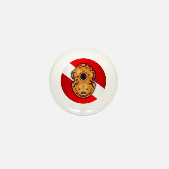Key West Marine Salvage Mini Button